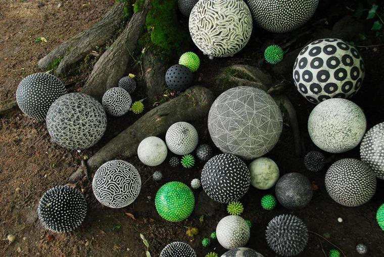 керамические домики