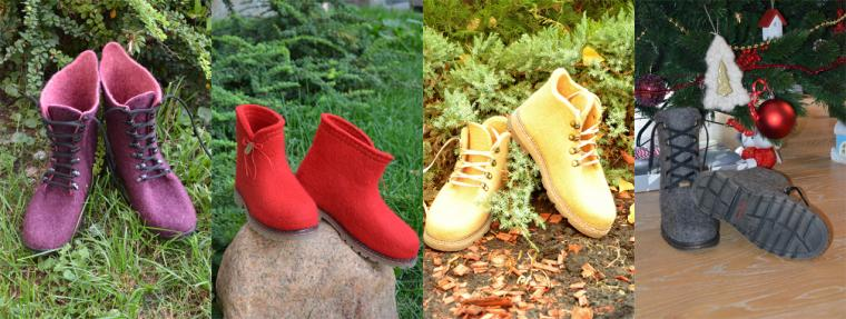 валяние обуви