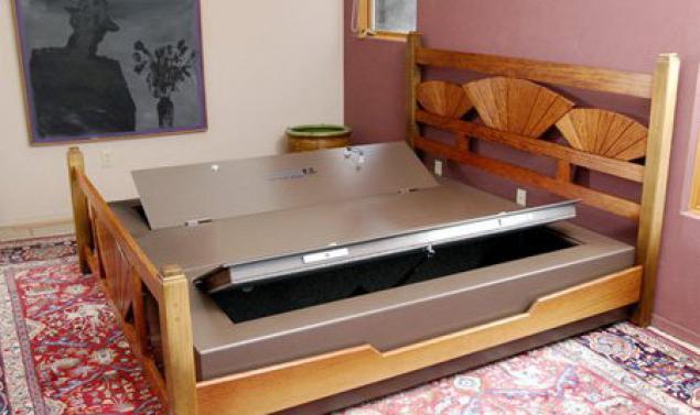 Оригинальные двуспальные кровати своими руками