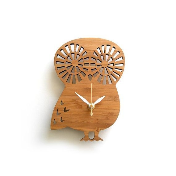 Modern Baby Owl Clock on Etsy, 1369,86K