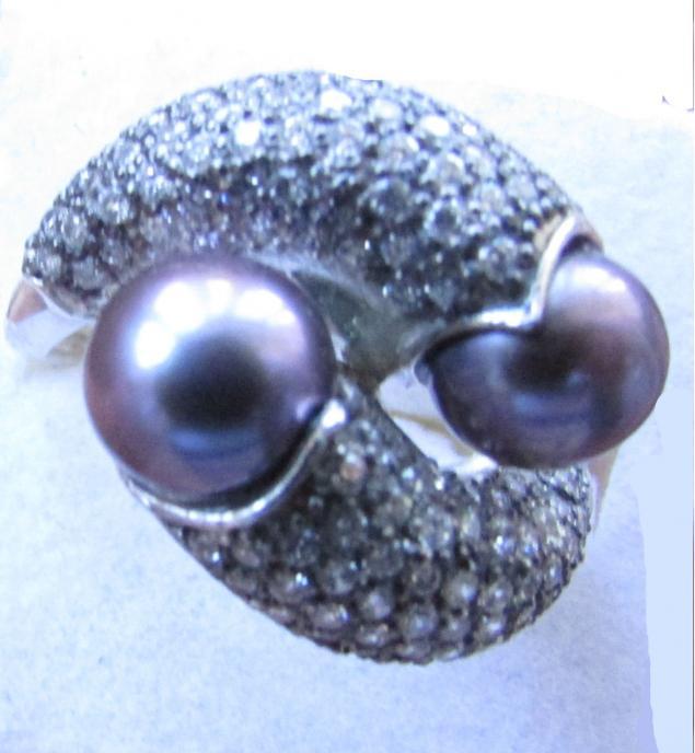 аукцион, серебряные украшения, серебряное кольцо, серебро 925 пробы, жемчуг, морской жемчуг, жемчужные украшения