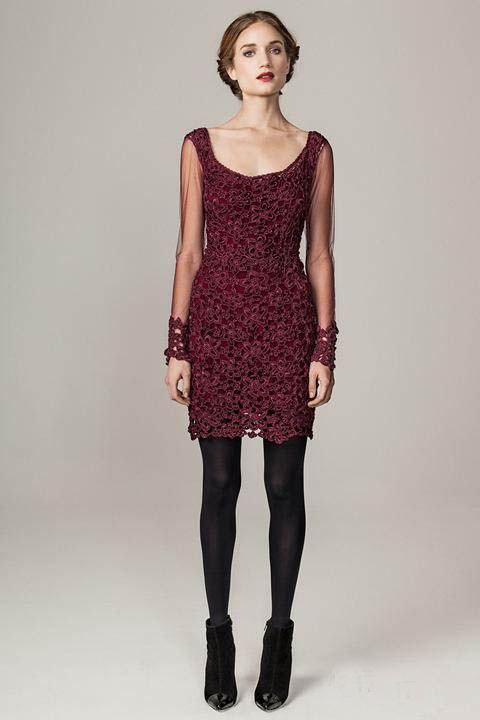 кружевное платье, бордовый, кружево