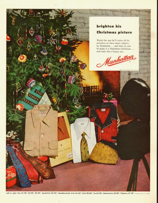 Новогодняя реклама Vintage/1951 -1956 включительно, фото № 15