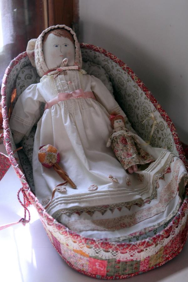Тряпичные куклы  техника