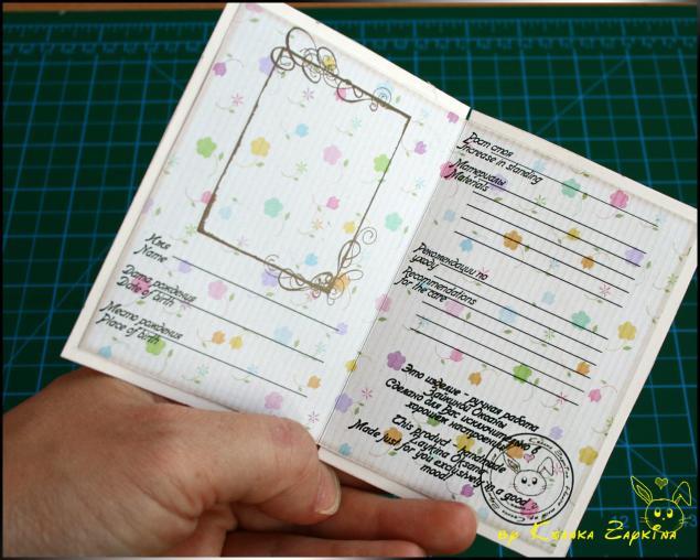 Как можно сделать паспорт своими руками 12
