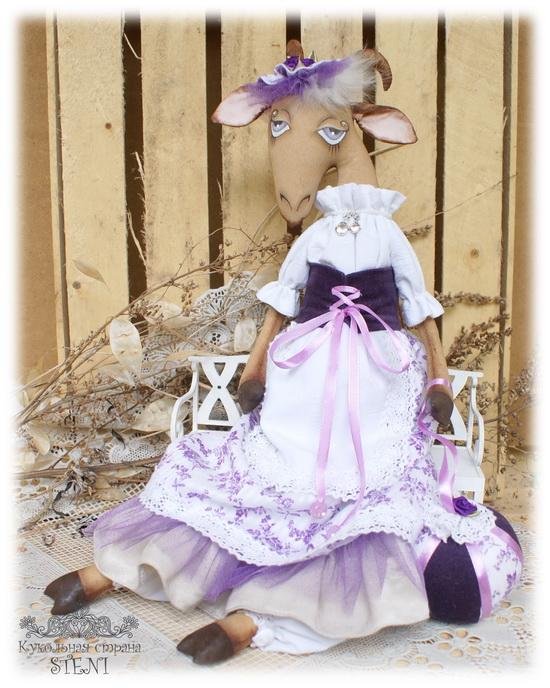 текстильная кукла, выкройка, подарок своими руками, текстильная кукла подарок, мастер класс новый год, коза символ новый год, коза выкройка