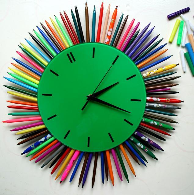 Идеи часов своими руками фото