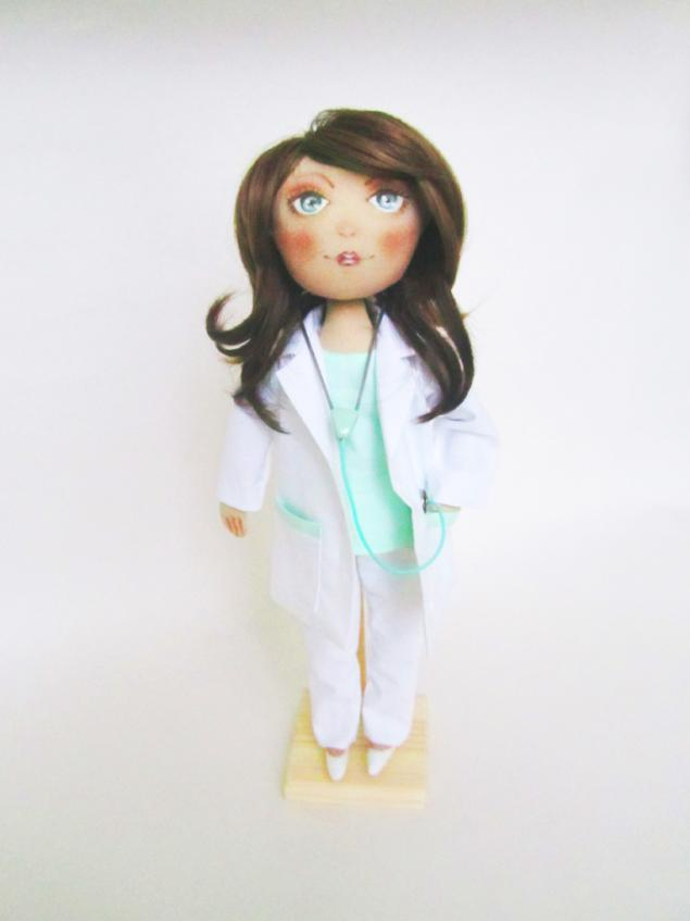 Кукла врач своими руками