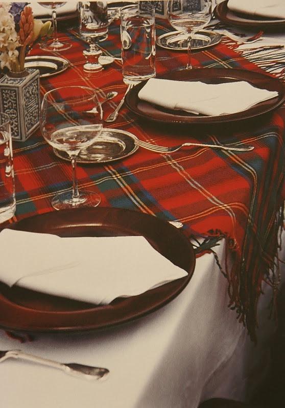 RL table setting.