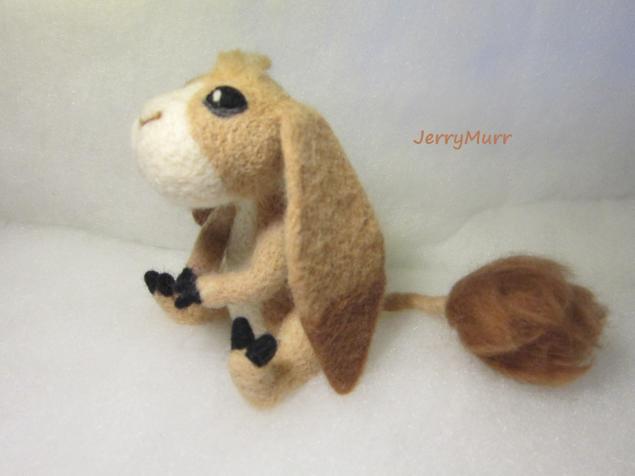 игрушка из войлока