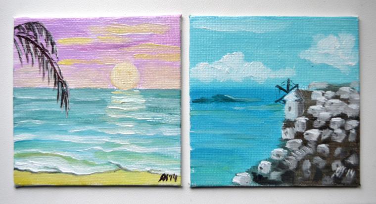 блог, морской пейзаж