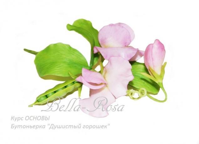 лепка цветов, флорис