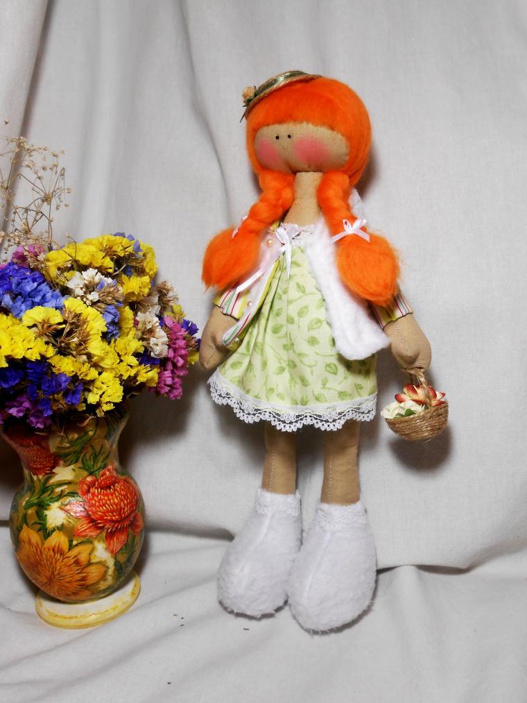 аукцион с нуля, кукла ручной работы