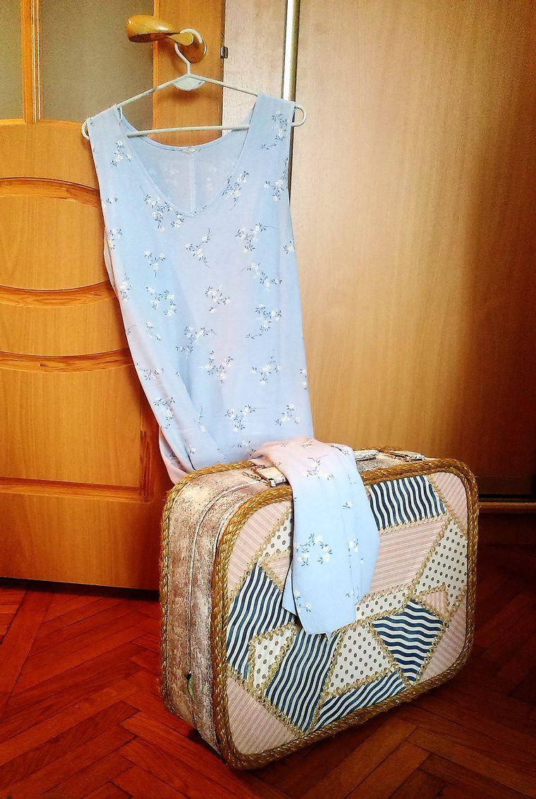 старый чемодан, карелия