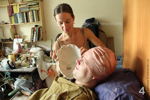 Силиконовое лицо (силиконовый слепок) своими руками Арт-студия Натальи 31