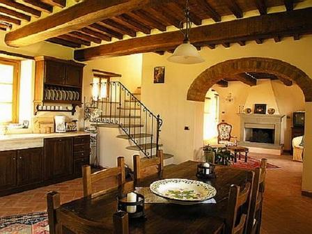 Итальянский - тосканский или средиземноморский - стиль интерьера, фото № 10