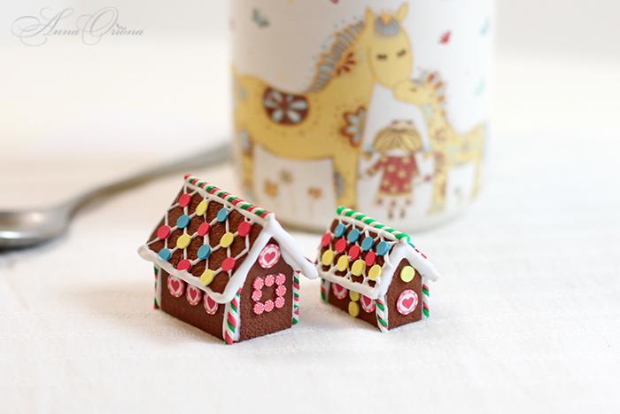 пряничный домик, мастер-класс по лепке, декор