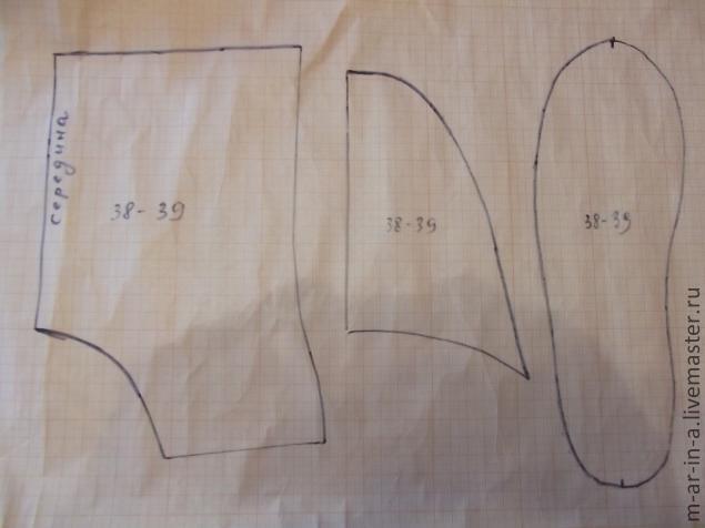 Как сделать выкройку фартука на миллиметровой бумаге 359