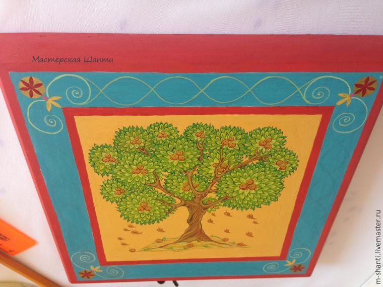 Расписываем яркую шкатулку-развивайку для детей, фото № 25