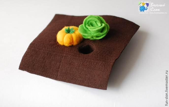 Шьем яркий и реалистичный игровой коврик из фетра, фото № 23