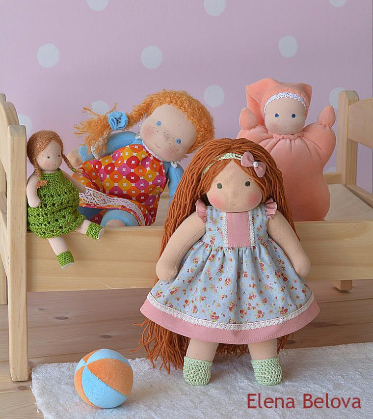 вальдорфская кукла, вальдорфская игрушка, кукла для детей, детская кукла, кукла, натуральные материалы