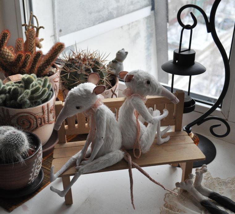 Зимняя сказка о белых крысах, фото № 1