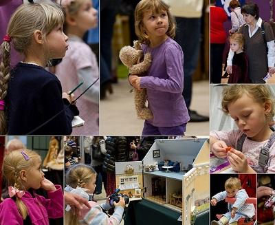 товары для рукоделия, куклы и игрушки