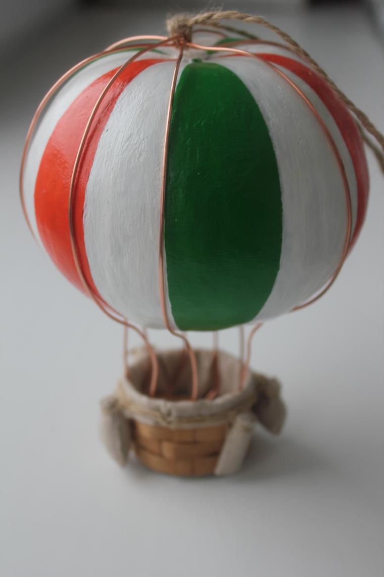 монгольфьер, интерьерное украшение, воздушный шар