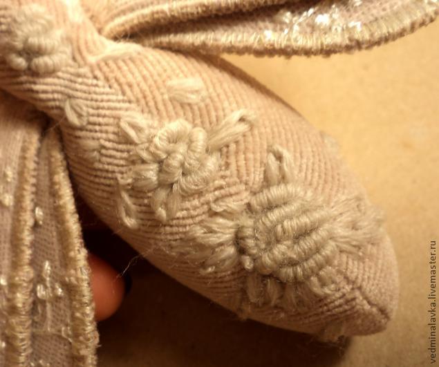 Текстильная брошь-мотылек, фото № 18