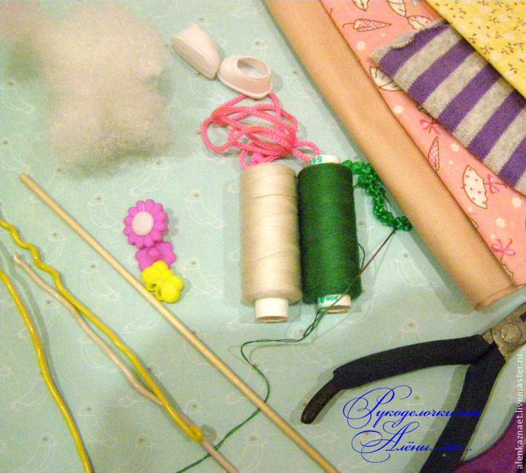 Мастерим куклу-подвеску «Бабочка» по мотивам Лалалупси, фото № 1