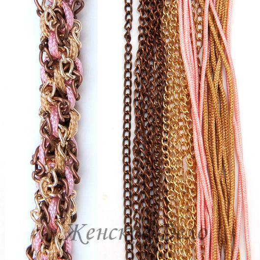 плетение шнуров