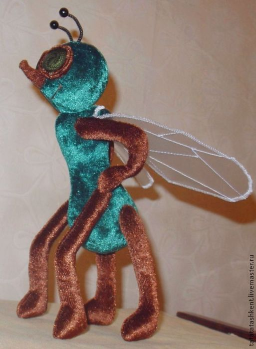 "Игрушка муха своими руками "" K2eao.ru"