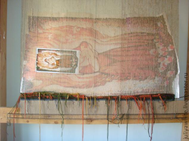 Ручное ткачество Гобелен Авторская дипломная работа  ручное ткачество