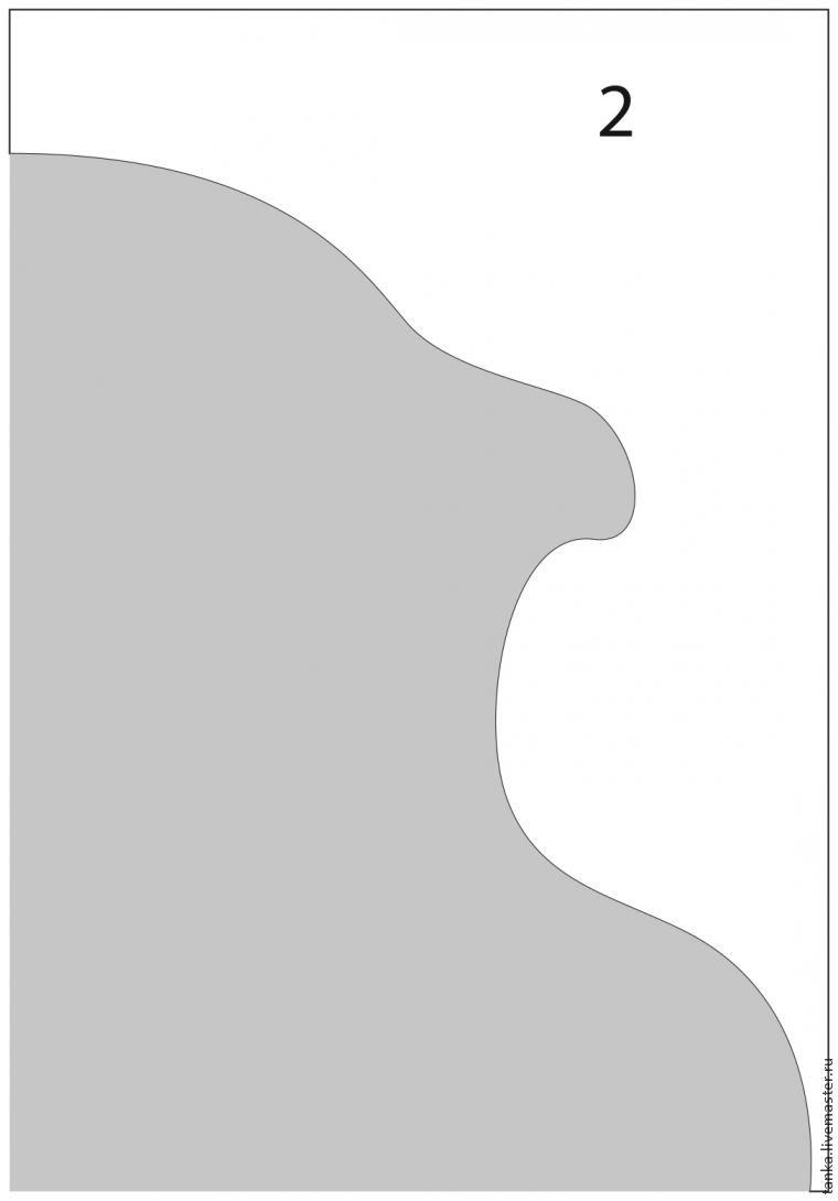 Увеличение шаблона в графической программе Иллюстратор, фото № 9