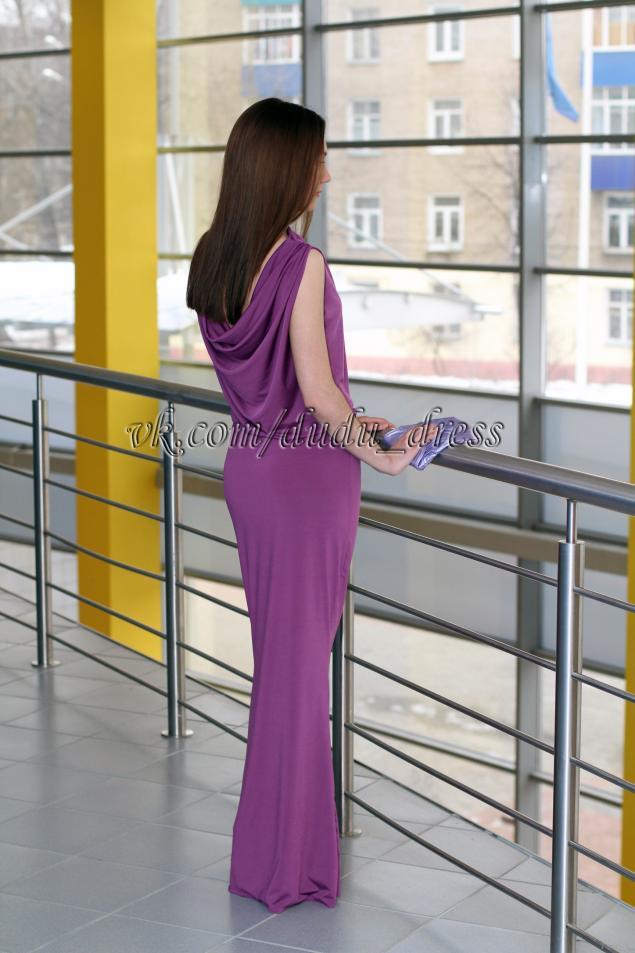 платье, скидка, акция, длинное платье, красивое платье, сирень