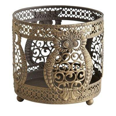 Owl Candle Sleeve