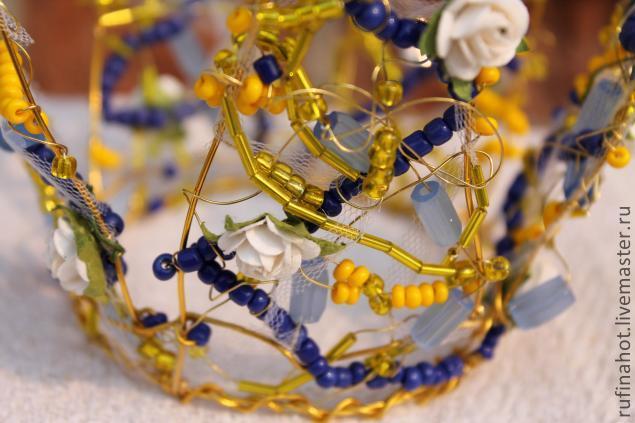 Как сделать корону своими руками из проволоки, для принцессы или снежной королевы.