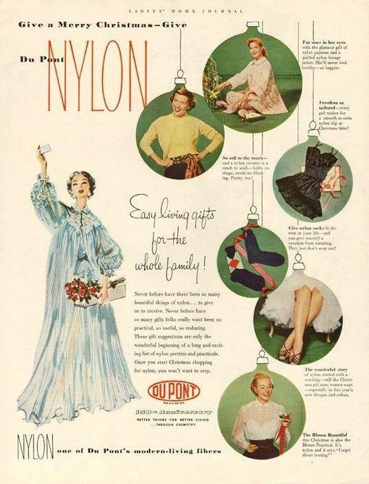 Новогодняя реклама Vintage/1951 -1956 включительно, фото № 13