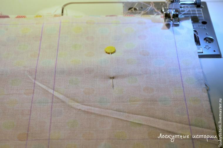 текстильная гирлянда