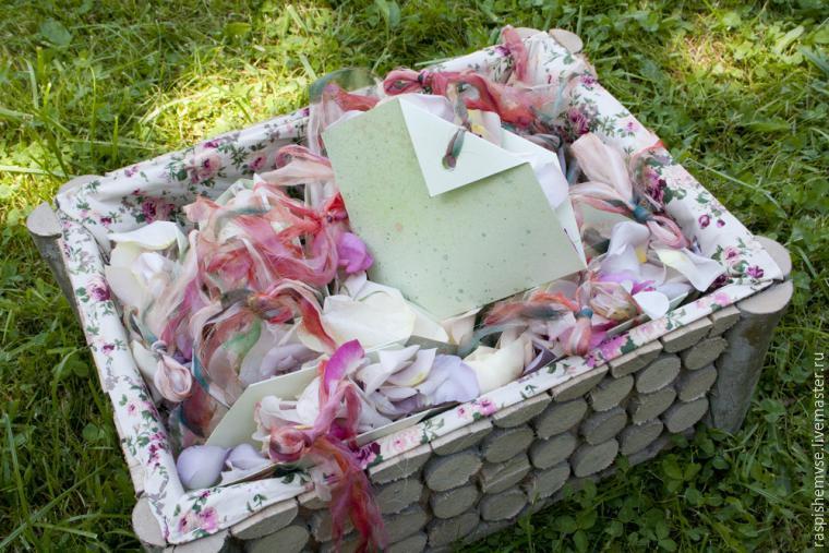 Делаем свадебные кулечки для лепестков, фото № 49