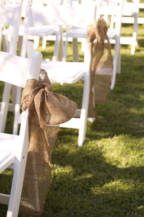 Льняная свадьба. Идеи для вдохновения, фото № 14