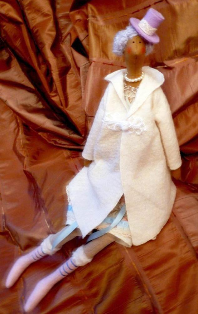 авторская игрушка, кукла, кукла тильда