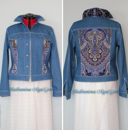 джинсовая одежда, женская куртка