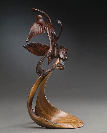 J. Christopher White.  Изящные деревянные скульптуры. Восьмая. Цена 6800 долларов