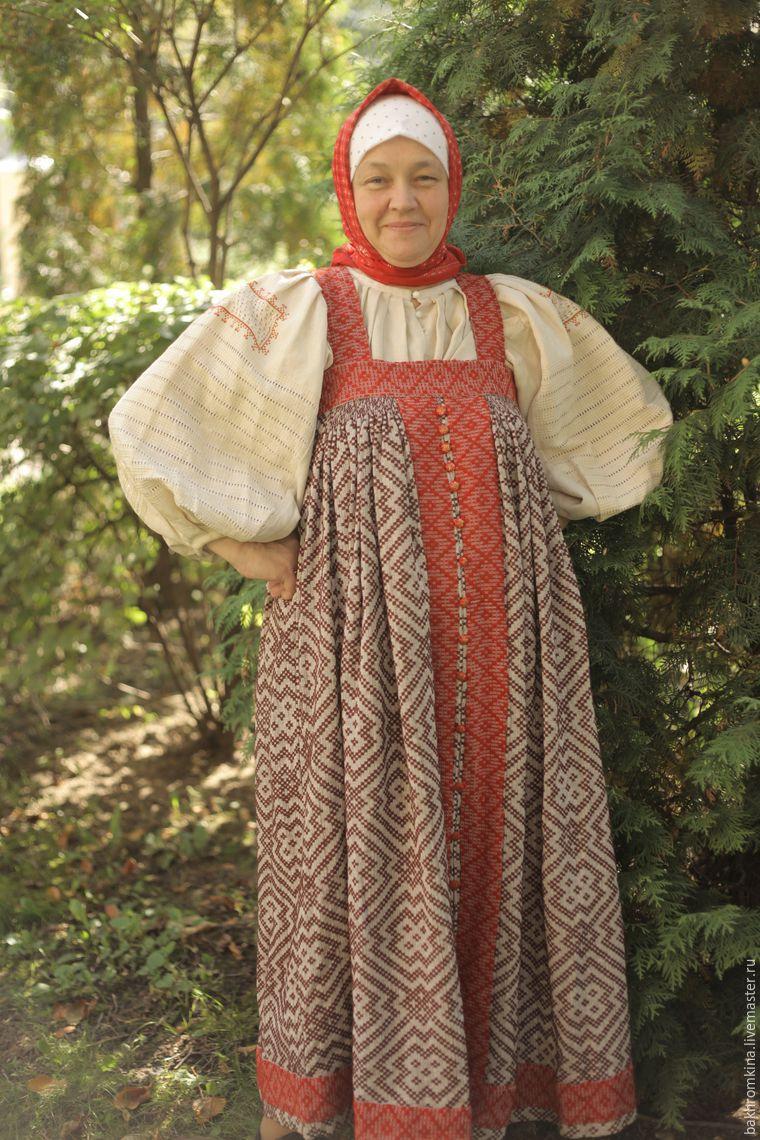 народный костюм, одежда ручной работы