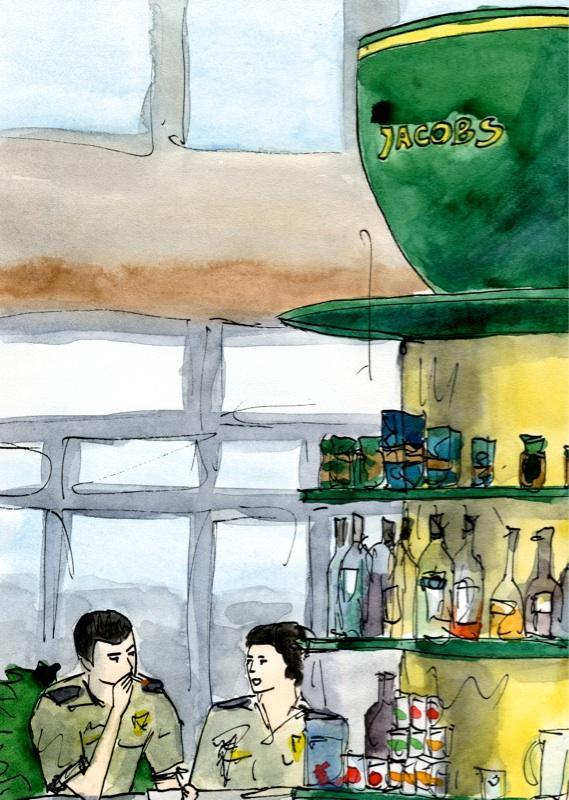 Путешествуем с Михаилом Щербаковым (Vokabre): быстрые зарисовки акварелью, фото № 15