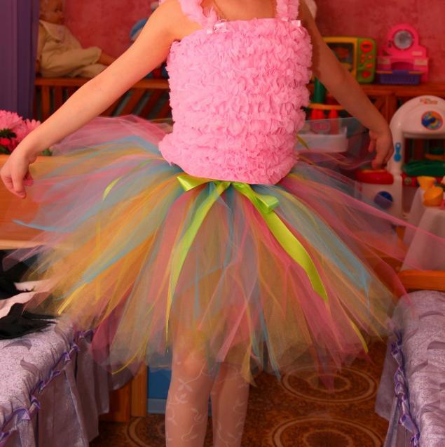 Сколько нужно фатина для юбки на 5 лет