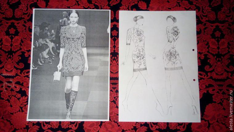 Мастер класс по пошиву простого платья