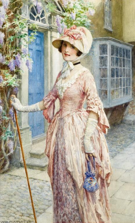 викторианский стиль, мода