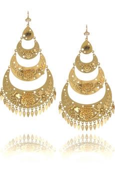 серьги из золота, ювелирное дело